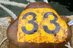 Управляющее число 33